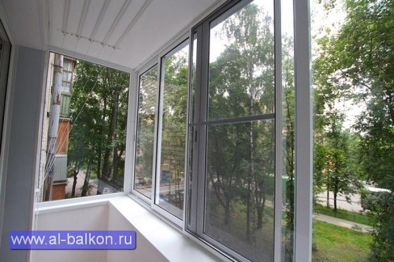 Остекление балконов в юбилейном.