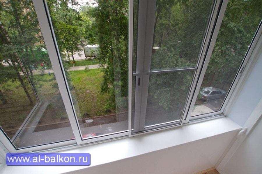 Остекление и отделка балконов в мытищах..