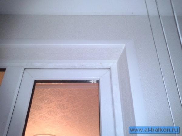 Отделка балконов пластиковыми панелями а москве..