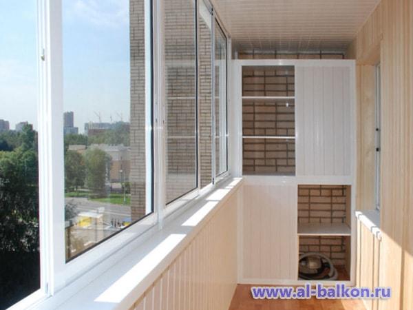 Остекление балконов и лоджий москва.