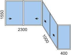 Цены на остекление балконов и лоджий, цены на отделку, расчё.