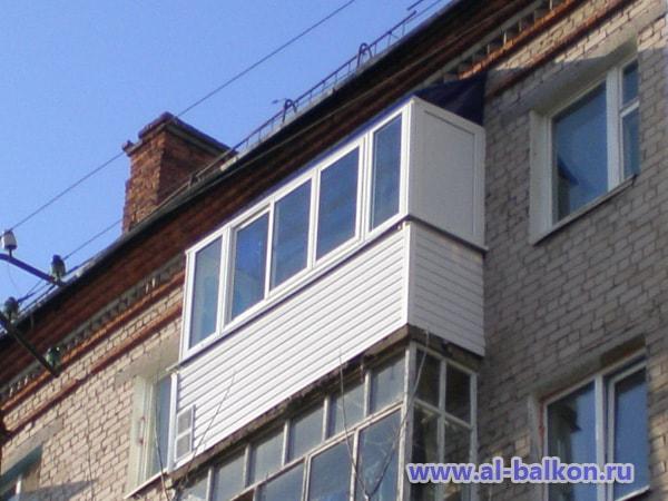 Остекление балконов на последних этажах. советы и рекомендац.