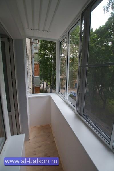 Остекление балконов в хрущевке - компания доц-21.
