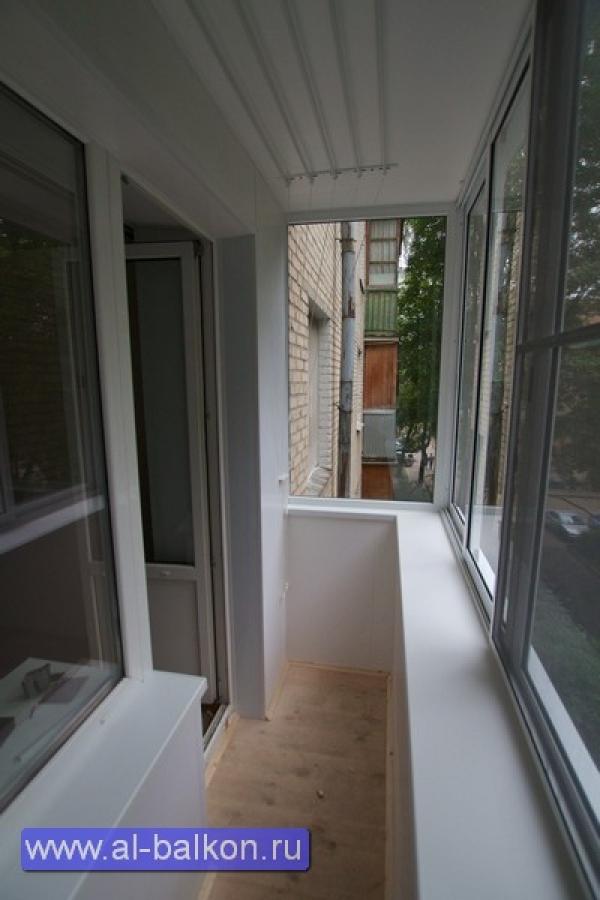 Остекление балконов и лоджий в химках.