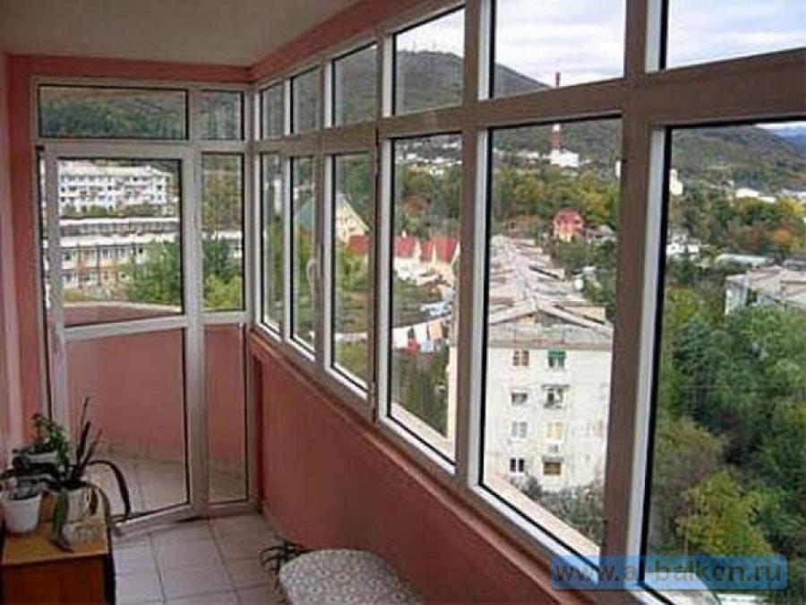 Остекление балконов в реутове.