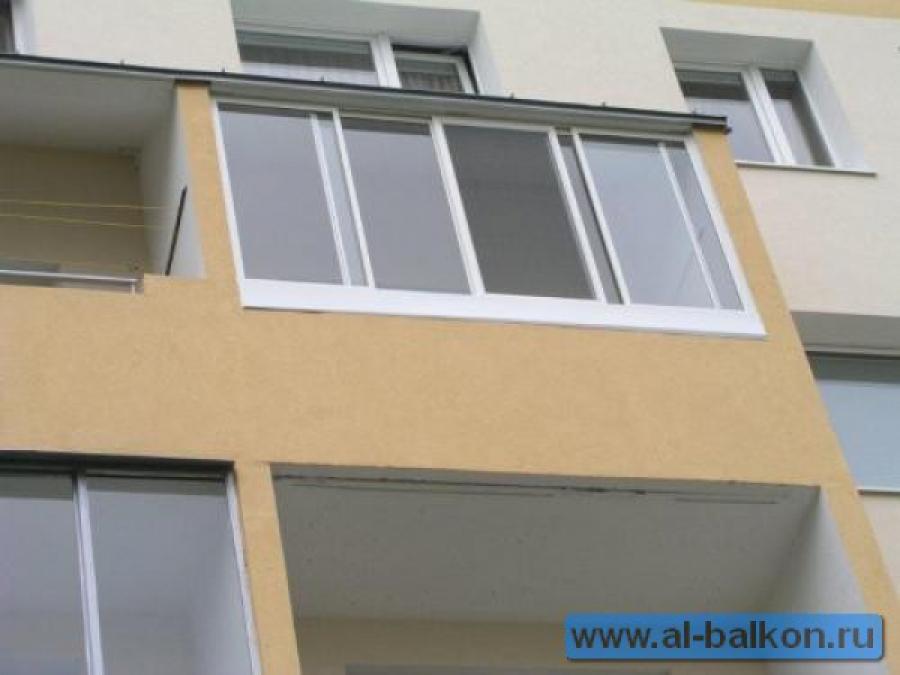 Обшитые 3 метровые балконы фото..