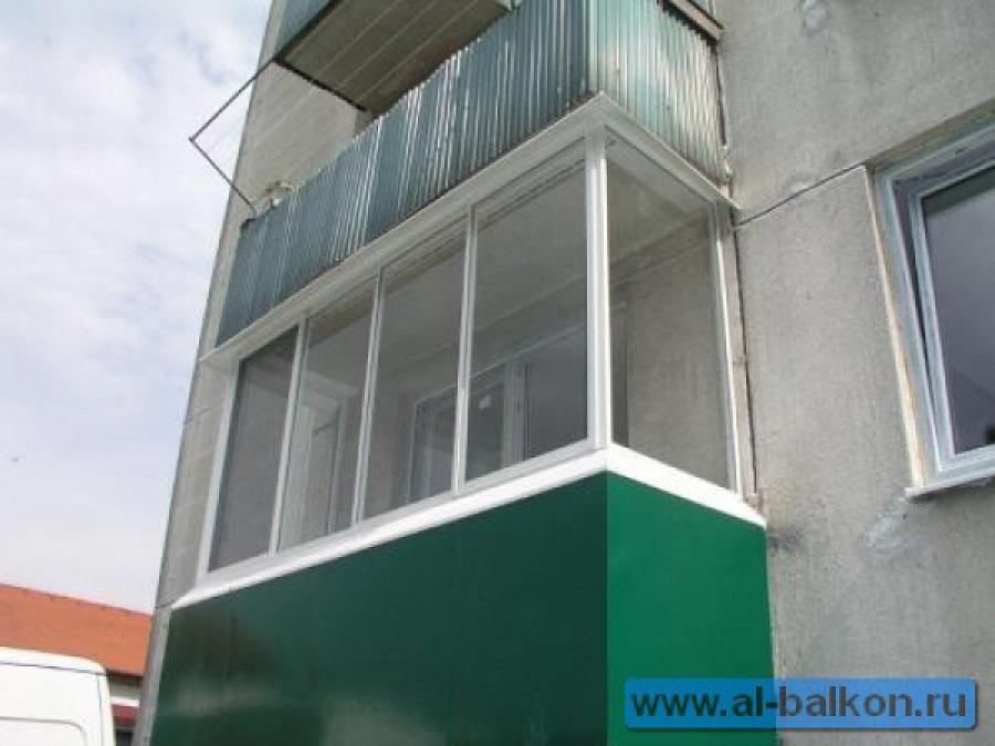Остекление и отделка балконов в зао..