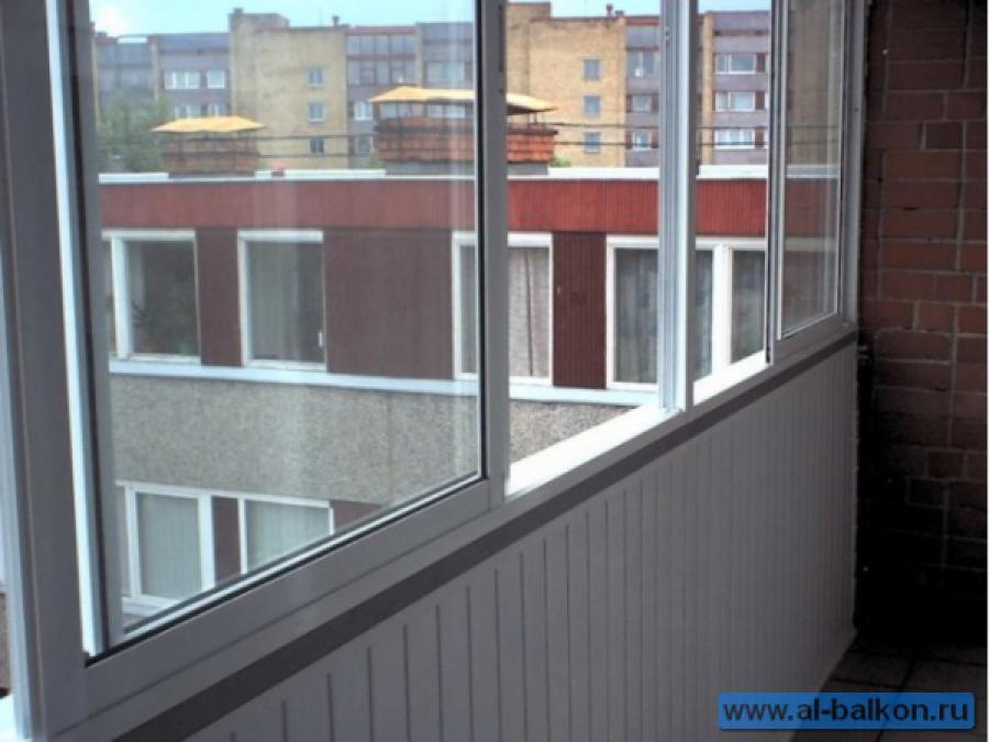 Остекление балконов и лоджий в юзао..