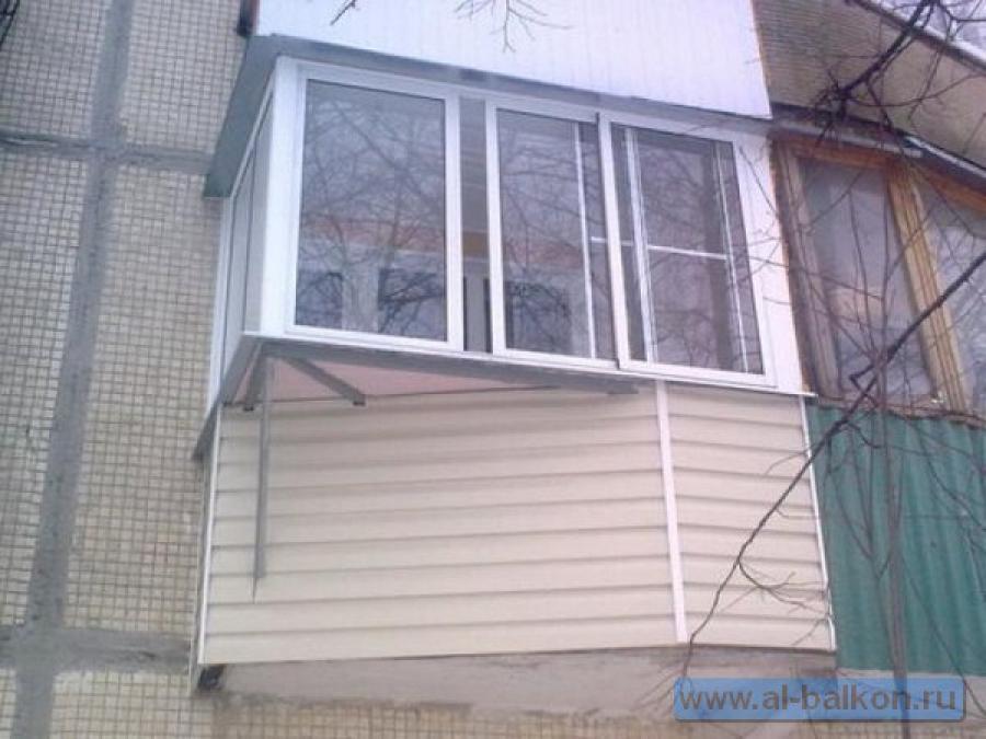 Холодное и теплое остекление балконов и лоджий объявление в .