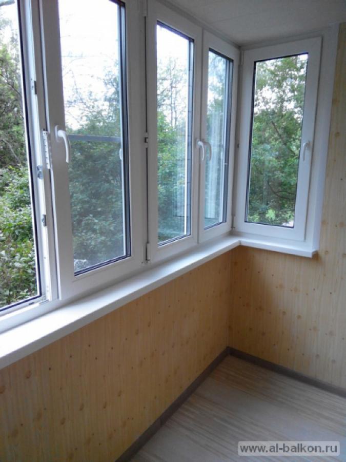 Остекление балконов и лоджий в лобне.