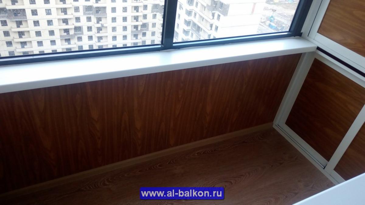 Фотографии остекления балконов и отделки лоджий.