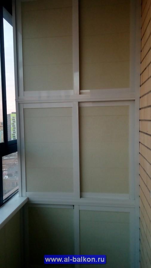 При остеклении балкона шкаф в подарок 97