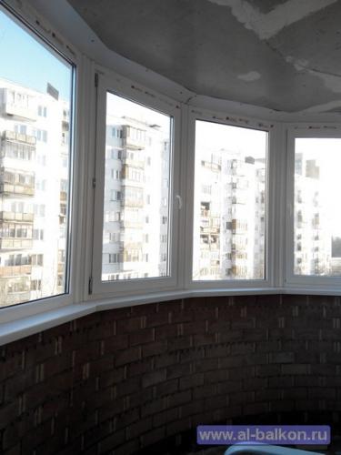 Остекление и отделка балконов в ивантеевке..