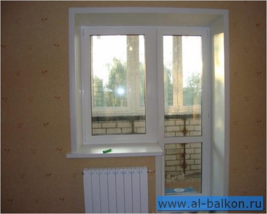 Пластиковые и деревянные окна - посмотреть примеры работ